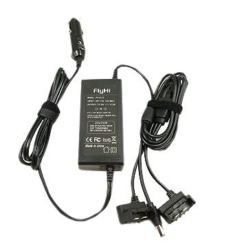 FlyHi Cargador de coche 2 canales Cargador de batería y un ...