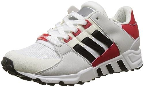 the best attitude baa78 8cc16 adidas EQT Support RF, Scarpe da Ginnastica Basse Uomo, Bianco (Footwear  White