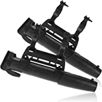 COM-FOUR® 2x mini fietspomp - kleine fietspomp met framehouder - luchtpomp met montageset en pompbevestiging voor…