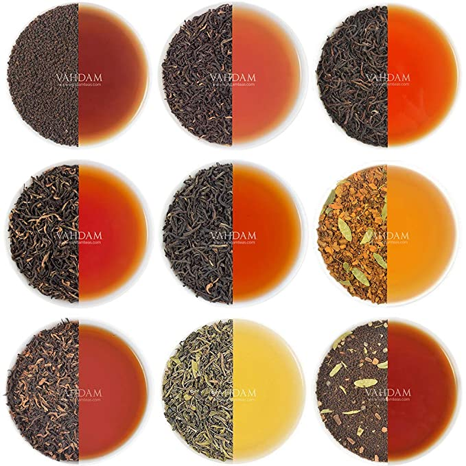 Muestra de té para el desayuno - 10 TEAS, 50 porciones | Té negro,
