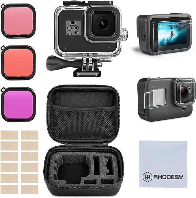 Rhodesy Kit Accesorios Set para GoPro Hero 8 Black(Negro) Estuche ...