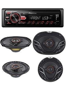 Pioneer DEH-X3500UI Negro receptor multimedia para coche - Radio para coche (Negro, CD,CD-R,CD-RW, Giratorio, LCD, 210000 colores): Amazon.es: Electrónica