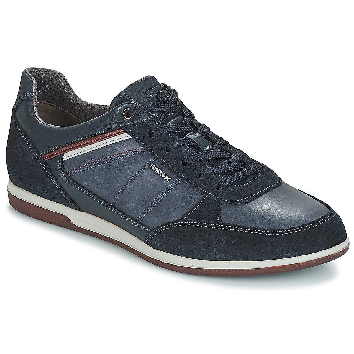 Geox U Renan B, Zapatillas para Hombre 44 EU|Azul (Navy C4002)