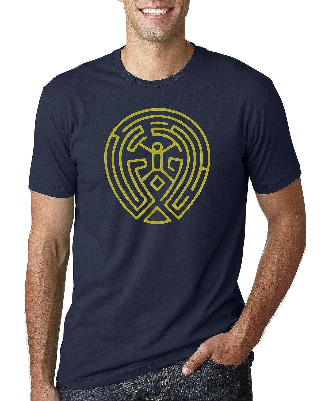 Westworld Arnolds Maze Men's T Shirt Graphic Fashion Tee
