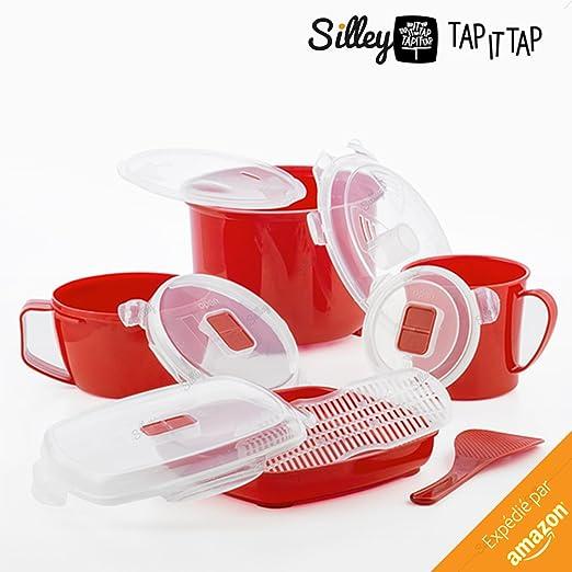 11 piezas] Silley® Servicio de cocina al vapor ☆ Kit de ...