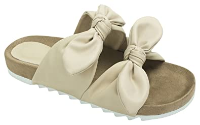 6e54d1c43 Amazon.com   AnnaKastle Womens Double Strap Slide Sandal with ...
