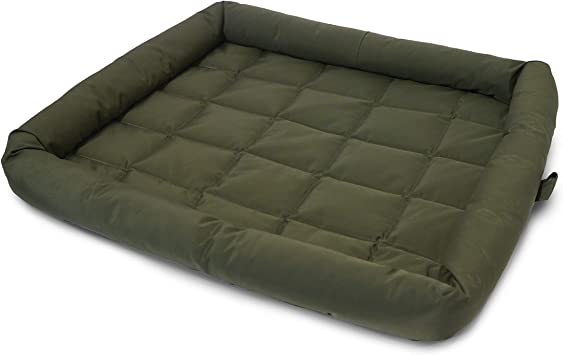 Rosewood Water Resistant Dog Crate Mattress Washable Quilted Dog Bed Medium Green Crate Mattress 22 X 30 Inch 56 X 76 Cm Amazon Co Uk Pet Supplies