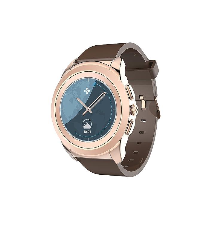 MyKronoz Zetime Original - Smartwatch, Color Negro y Plata