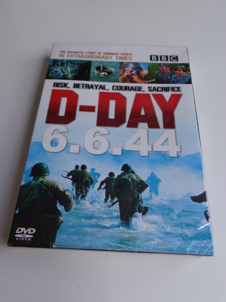 Amazon.com: D-Day 6.6.44 BBC Documentary / Region Free PAL DVD / Audio: English, Thai / Subtitles: Thai: Movies & TV
