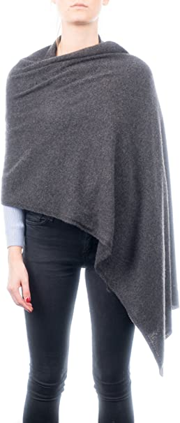 Made in Italy Dalle Piane Cashmere Mini Scarf 100/% cashmere Color: Anthracite One size Woman//Man