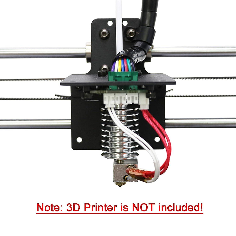 12V 40W Updated Straight-type V5 J-head Hotend Kit Replacement for ANCYUBIC I3 Mega 3D Printer