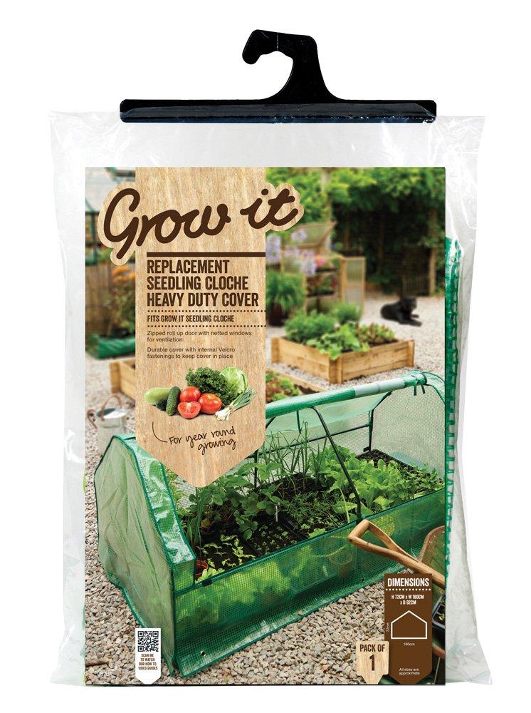 Grow It 08764 Replacement Seedling Cloche Heavy Duty Cover Gardman