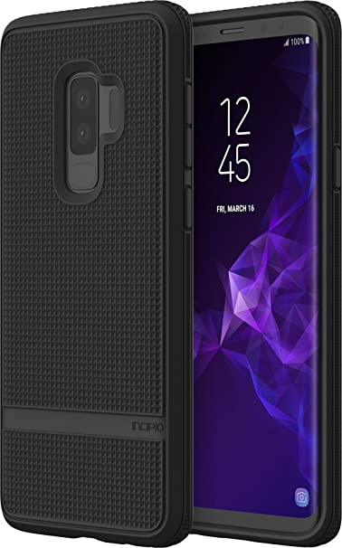 separation shoes 8f6fd 87abd Incipio NGP Advanced Samsung Galaxy S9+ Case with Textured Back and  Honeycombed Interior for Samsung Galaxy S9 Plus (2018) - Black