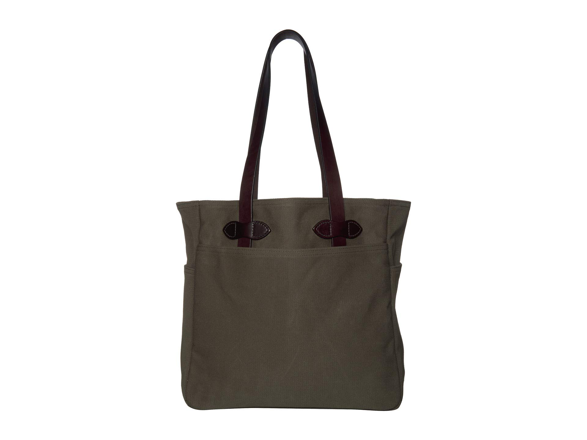 Filson Unisex Tote Bag W/Out Zipper Otter Green1 One Size by Filson