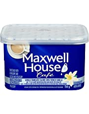 Maxwell House Café Calorie-Wise French Vanilla Instant Coffee, 114g