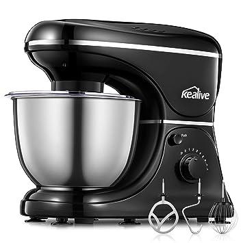 Amazon.de: Kealive Küchenmaschine, Knetmaschine (1200W - 8 ...