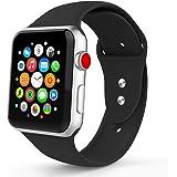 iYou Cinturino sportivo per Apple Watch Band, cinturino morbido sostitutivo in silicone Cinturino sportivo classico per iWatch 2017 Apple Watch Series 3/2/1, edizione, Nike +, tutti i modelli