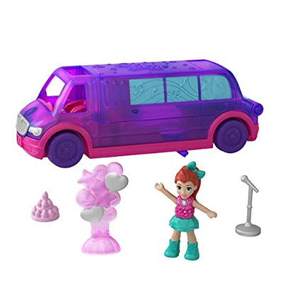 Polly Pocket Pollyville Party Limo: Toys & Games