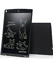 Tavoletta LCD da Disegno 12 Pollici - NEWYES NYWT120- Memo Pad Grande Taglia da Ewriter LCD per Tablet da Tavoletta Grafica Compreso 1 Pennino(Nero)