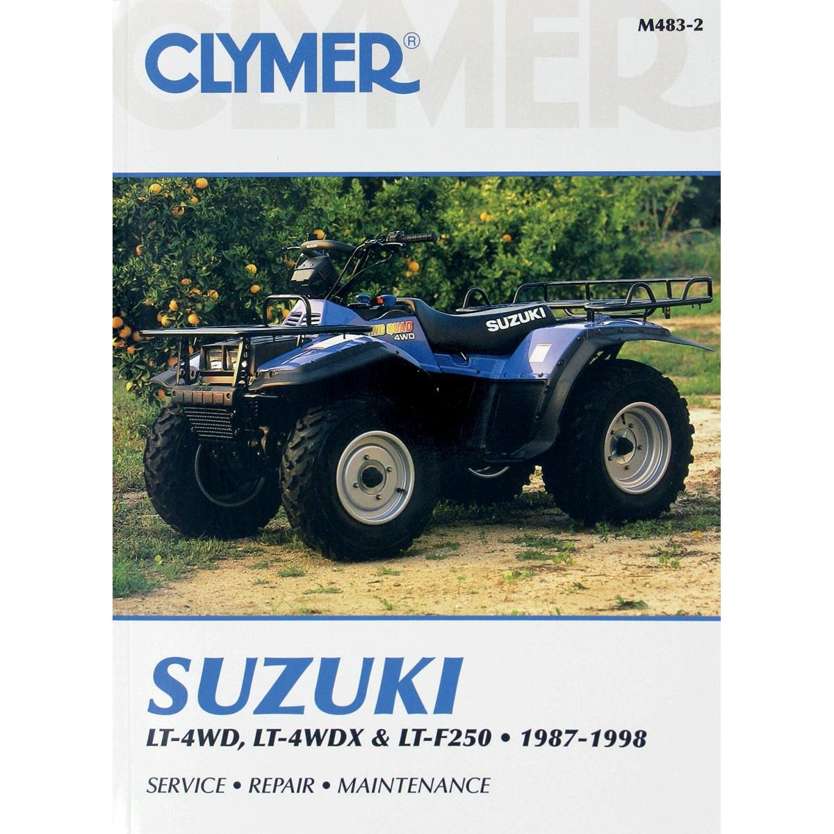 Amazon.com: Clymer Repair Manual for Suzuki ATV LT LT-X LT-F250 87-98:  Electronics