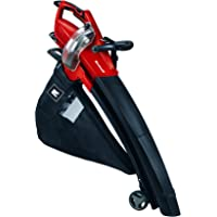Einhell Aspirateur-Souffleur électrique GE-EL 3000 E (3000 W, Sac de ramassage 50 l, Variateur électronique, Easy Clean System, 2 roulettes de guidage, Sangle de portée réglable)
