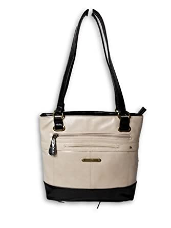 5a36b0ae80290e Amazon.com: Stone Mountain Leather Plugged In Vintage Tote: Clothing