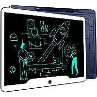 Richgv Tableta de Escritura LCD 15 Pulgadas, Tableta Grafica Talla Grande, Pizarra Digital, Pizarra magnética para niños…