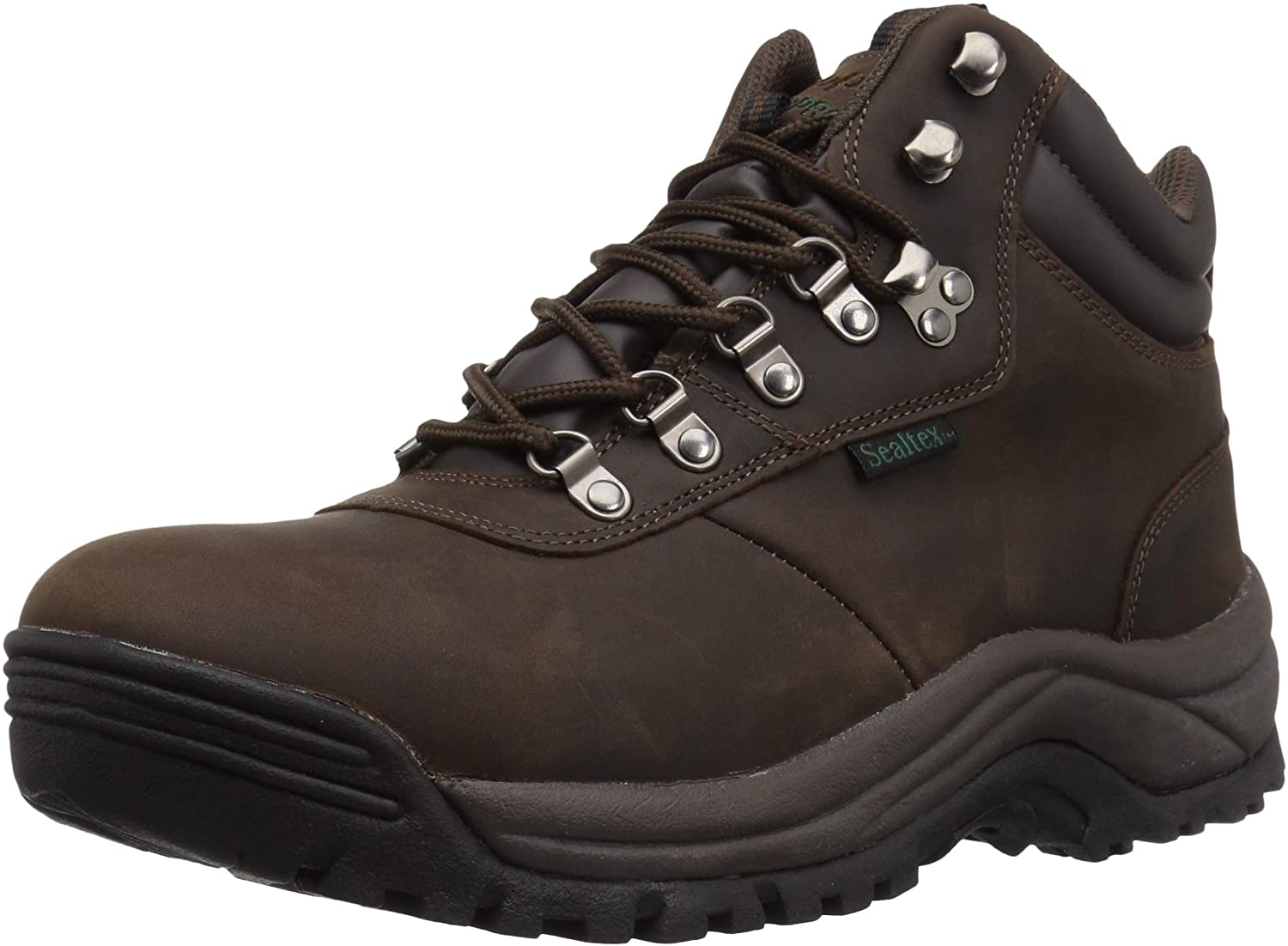 Propet Men s Cliff Walker Hiking Boot, Brown Crazy Horse