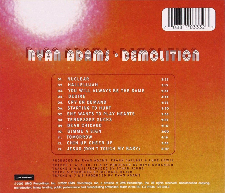 Ryan Adams Demolition Amazoncom Music