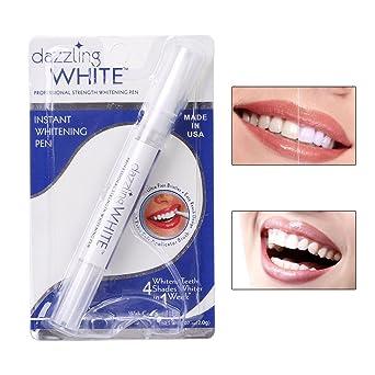 Kit de limpieza de dientes de gel de peróxido para blanqueamiento dental blanco: Amazon.es: Industria, empresas y ciencia