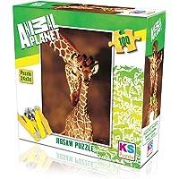 KS Games Animal Planet   Stunning Giraffes Yapboz