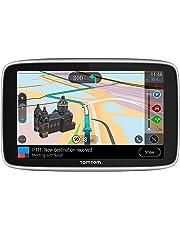 """TomTom GO Navigatore Premium GPS 6"""", Aggiornamenti Tramite Wi-Fi, Mappe del Mondo, Traffico e Autovelox a Vita (SIM Inclusa), Last Mile Navigation e IFTTT"""