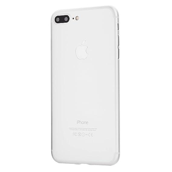 iPhone 7 Plus Case, Thinnest Cover Premium Ultra Thin Light Slim Minimal  Anti-Scratch