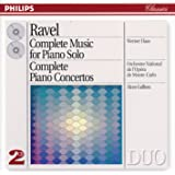 Ravel: Complete Music for Piano Solo/Piano Concertos (2 CDs)