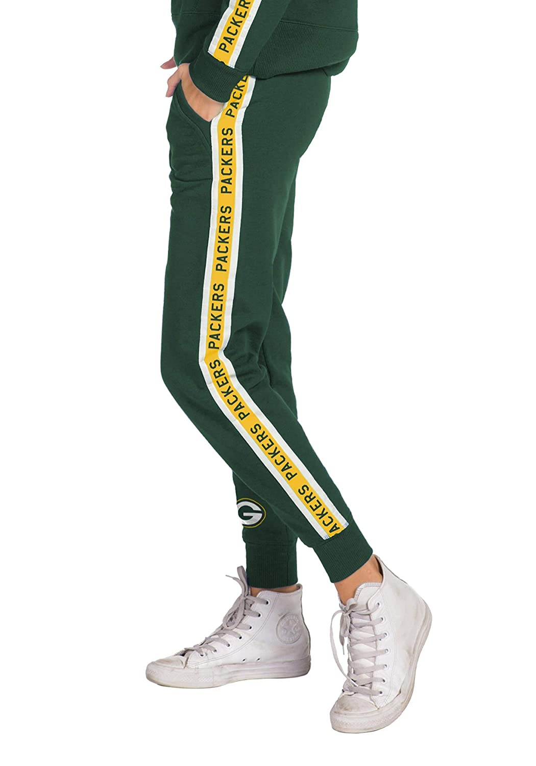 Womens Hunter Green Green Bay Packers Fleece Joggers