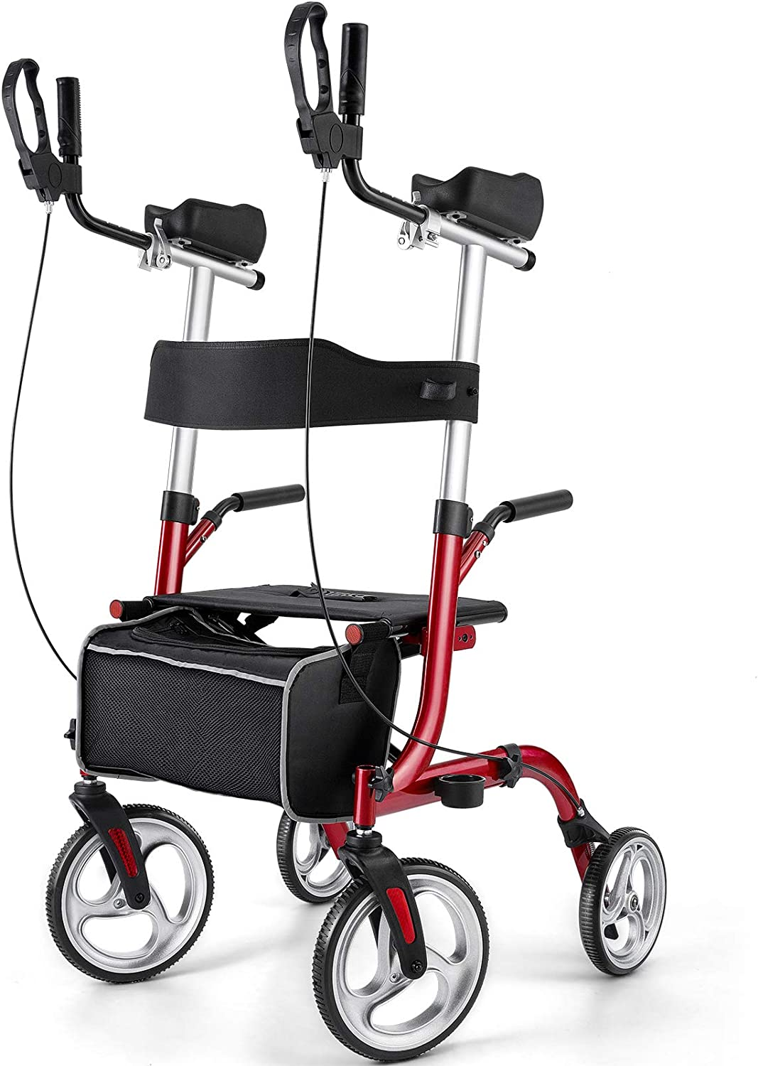 Outlet High quality SALE Rinkmo Rollator for Seniors and Folding Adults Up Stand