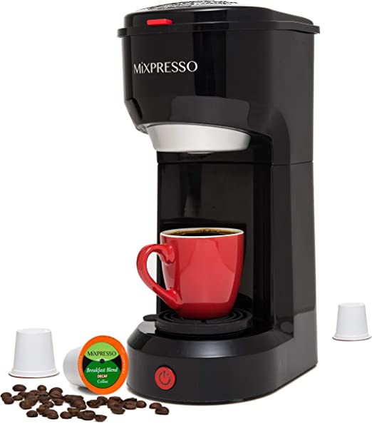 Amazon.com: Mixpresso Coffee - cafetera original de una taza ...