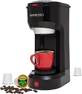 Mixpresso Original Design Cafetera de una sola taza compatible con ...