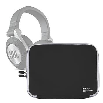 Duragadget Housse En Noir Pour Casque Audio Jbl Synchros E30 E40 Bt