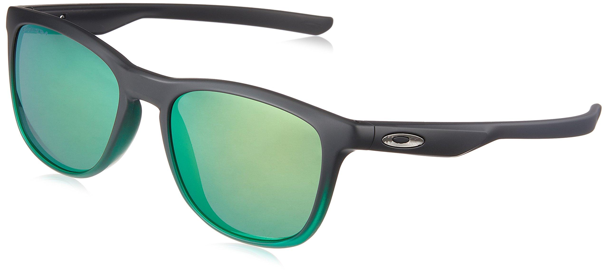 Oakley Men's Trillbe X Iridium Rectangular Sunglasses JADE FADE 52.0 mm