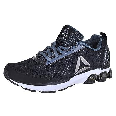 Reebok Men's Jet Dashride 5.0 Sneaker, Men's Black/Alloy/White/Pewter,