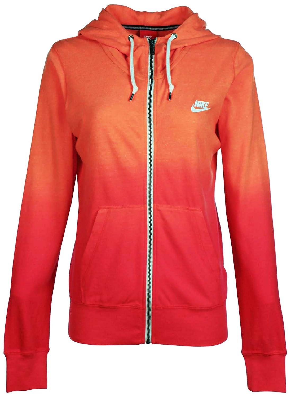 Nike Gym Vintage Dip Dye - Sudadera con Capucha para Mujer, XS, Anaranjado: Amazon.es: Deportes y aire libre