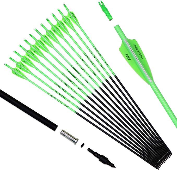 Best Archery Arrows: Pointdo 30inch Carbon Arrow