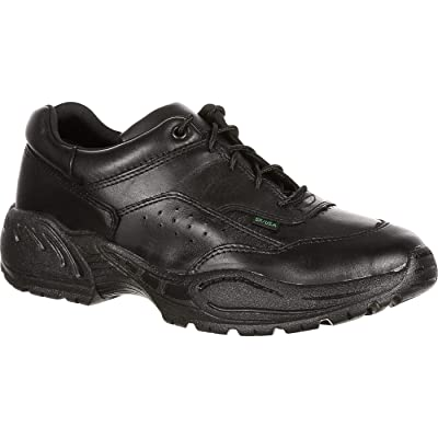 Rocky Men's FQ9111101 Oxford, Black, 9 2E US | Industrial & Construction Boots