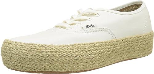 Amazon.com | Vans Women's Authentic Platform ESP Trainers ...