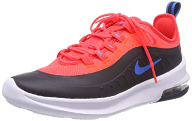 size 40 d734e 30de2 Nike Boy s Air Max Axis Shoe Bright Crimson Photo Blue Obsidian Size 3.5 M