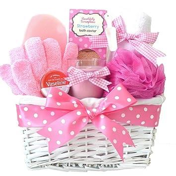Mum Birthday Gift Basket Hamper Mothers Day Pamper For Christmas