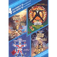 4 Film Favorites Vacation Collection (Vacation/Vegas Vacation/Christmas Vacation/European Vacation) (Bilingual)