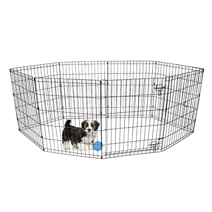 Amazon Bv Pet 30 H Foldable Exercise Pendog Playpen 8