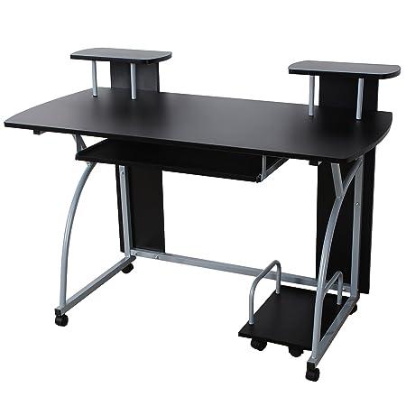 ebony ireland drawer desks writing desk en large home furniture office